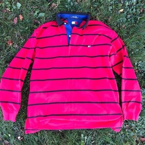 Vintage Tommy Hilfiger Long Sleeve Polo Shirt